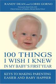 Cover of: 100 Things I Wish I Knew In My Baby