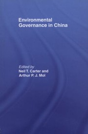 Cover of: Environmental Governance in China