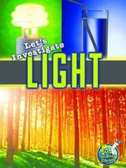 Cover of: Lets Investigate Light
