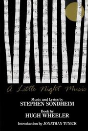 Cover of: Little night music: Vocal Selections