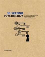 Cover of: 30Second Psychology
