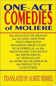 Cover of: One-act comedies of Molière