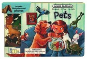 Cover of: Pets Board Book With 10 Animal Figures