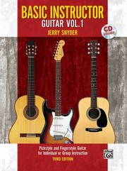 Cover of: Basic Instructor Guitar Volume 1