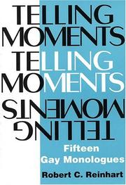 Cover of: Telling moments