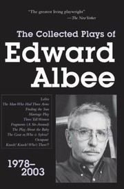 Cover of: Collected Plays of Edward Albee PT 3