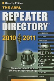 Cover of: The ARRL Repeater Directory