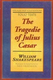 The tragedie of Julius Caesar by William Shakespeare