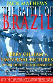 Cover of: The Battle of Brazil | Jack Mathews