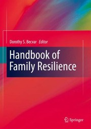 Cover of: Handbook of Family Resilience