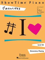 Cover of: ShowTime Piano Level 2A Favorites