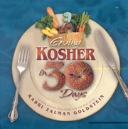 Going Kosher in 30 Days