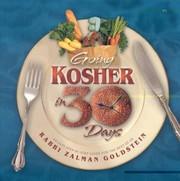 Going Kosher in 30 Days