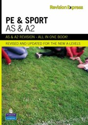 Cover of: Revision Express AS and A2 Physical Education and Sport