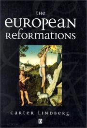 Cover of: The European Reformations