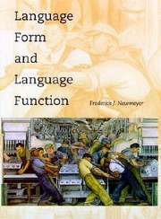 Cover of: Language Form and Language Function