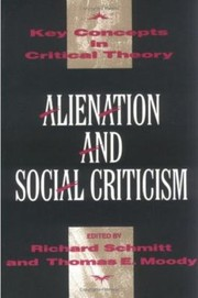 Cover of: Alienation  Social Criticism
