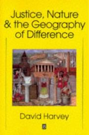 Cover of: Justice, nature, and the geography of difference
