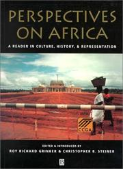 Cover of: Perspectives on Africa