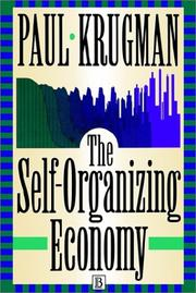 Cover of: Self Organizing Economy (Mitsui Lectures in Economics)