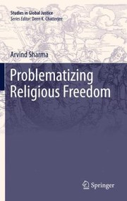 Cover of: Problematizing Religious Freedom