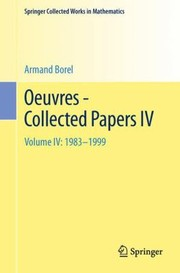 Cover of: Oeuvres  Collected Papers