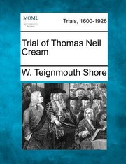 Cover of: Trial of Thomas Neil Cream