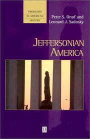 Cover of: Jeffersonian America