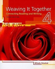 Cover of: Weaving It Together Level 4