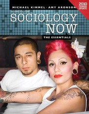 Cover of: Sociology Now The Essentials