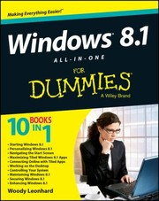 Cover of: Windows 81 Allinone For Dummies