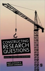 Cover of: Constructing Research Questions