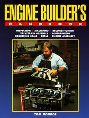 Cover of: Engine builder's handbook