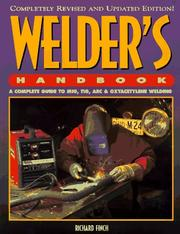 Cover of: Welder's handbook