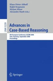 Cover of: Advances in CaseBased Reasoning