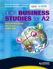 Cover of: OCR Business Studies for A2