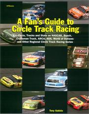 Cover of: A Fan's Guide To Circle Track Racing
