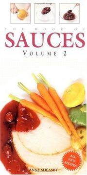 Cover of: The Book of Sauces, Vol. 2 (Book of Sauces)