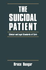 Cover of: The suicidal patient