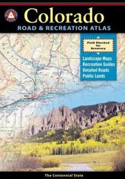 Cover of: Benchmark Colorado Road  Recreation Atlas