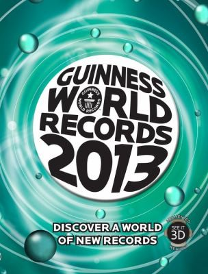Guinness World Records 2013                            Guinness Book of Records Hardcover by