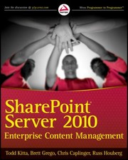 Cover of: Sharepoint Server 2010 Enterprise Content Management