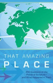 Cover of: That Amazing Place