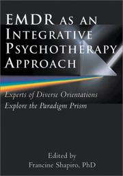Cover of: EMDR as an Integrative Psychotherapy Approach