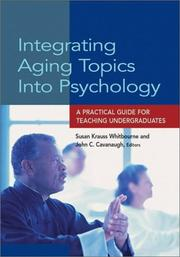 Cover of: Integrating Aging Topics into Psychology |