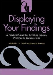Cover of: Displaying your findings