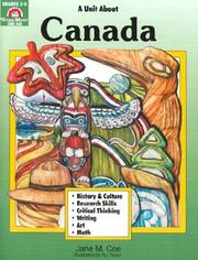 Cover of: Canada | Jane M. Coe