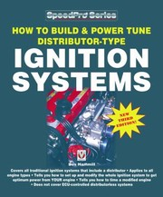 Cover of: How To Build Power Tune Distributortype Ignition Systems