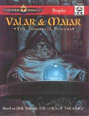 Cover of: Valar & Maiar: The Immortal Powers (MERP Middle Earth Role Playing #2006)