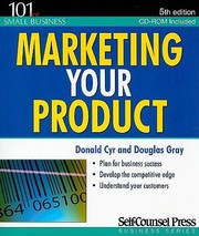 Cover of: Marketing Your Product With CDROM
